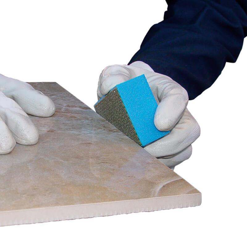 DF200 Diamond Hand Pad Blue Montolit Tools with Holten Impex Toronto Ontario Canada