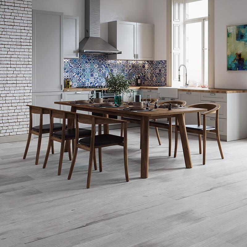 tuile bois gris wall tile floor toronto ontario kitchen backsplash