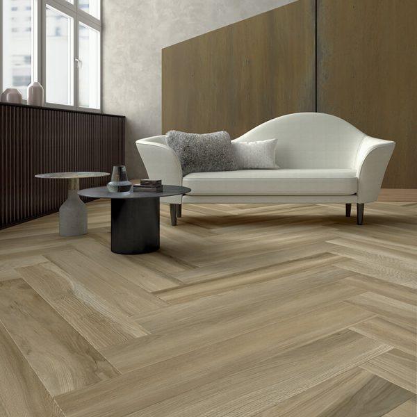 beige tuile bois floor kitchen backsplash toronto ontario