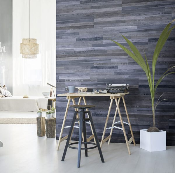 tuile bois bleu noir floor tile wall kitchen backsplash toronto