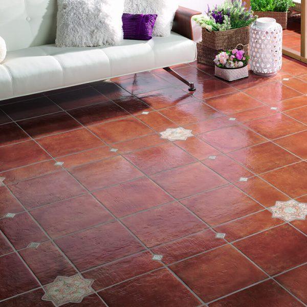 cotta spanish clay tile kichen floor toronto
