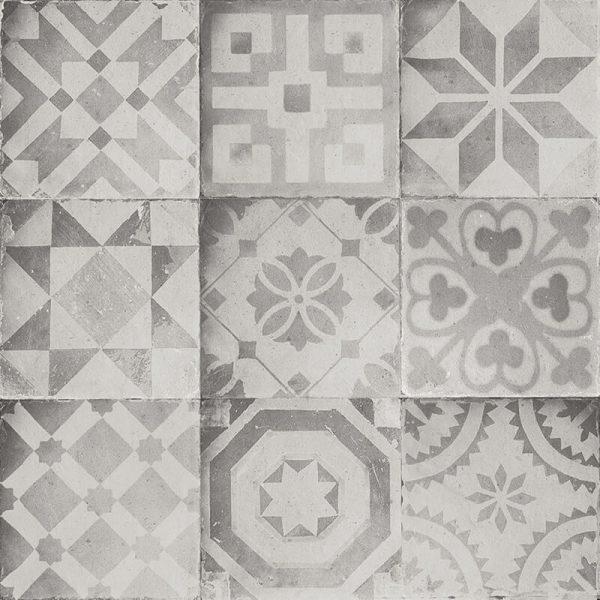 grey concrete decor accent wall tile floor shower backsplash ontario