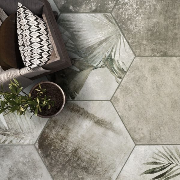 interior design home improvement renovation green grey accent wall tile floor bathroom shower kitchen decor toronto