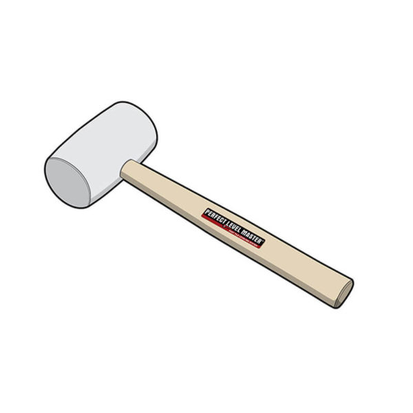 rubber mallet illustrated