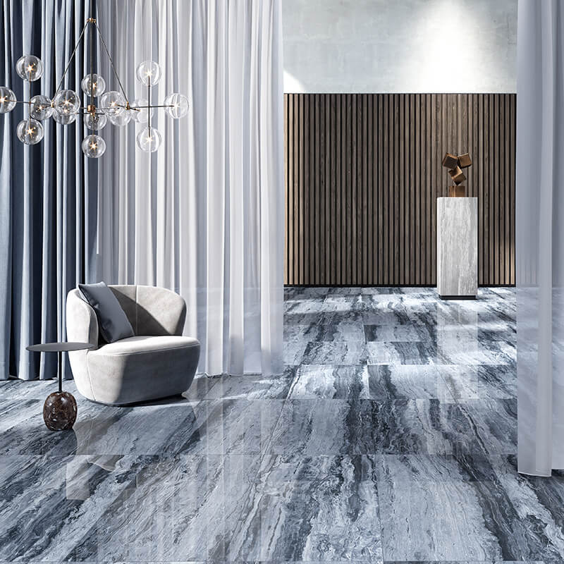 sky azur bleue tuile marbre pierre wall tile floor kitchen bathroom toronto canada