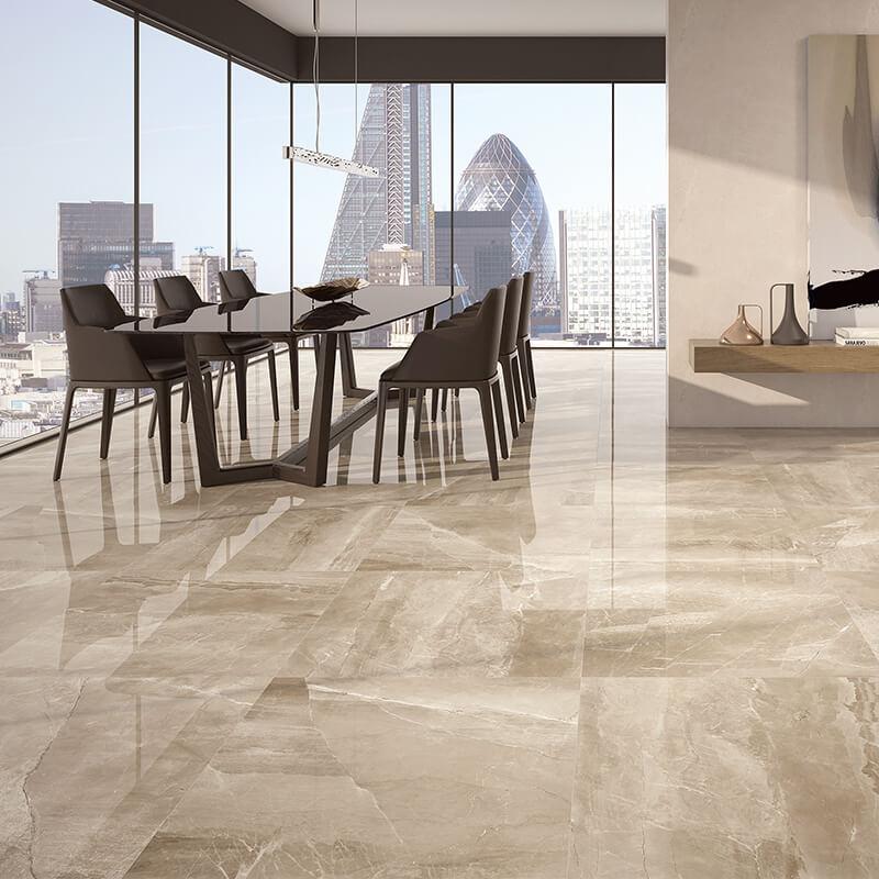 taupe marble stone wall tuile floor kitchen backsplash toronto