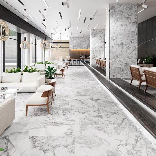 white marble luxury interior toronto kitchen backsplash canada